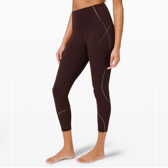 """NWT Align High Rise Pant 25"""" *Gold Special Edition"""